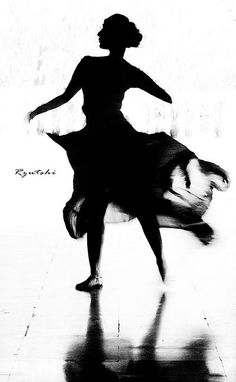 A beautiful silhouette of a kathak dancer