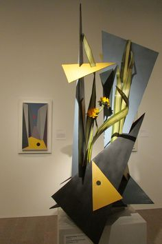 Geometric Abstraction - Charles Green Shaw, 1937. Bouquets to Art exhibition, March 18 – 23, 2014. deYoung Fine Arts Museum San Francisco, CA http://deyoung.famsf.org/deyoung/exhibitions/bouquets-to-art