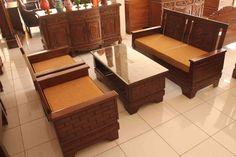 Kursi Tamu Sudut Minimalis Sofa Murah Atau Set Kursi Tamu Minimalis ini terbuat dari kayu jati yang kualitas dan difinising dengan warna natural