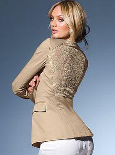 Lace-back Jacket - Victoria's Secret
