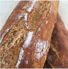 Cassava flour & arrowroot crusty french bread - grain-free, nut-free, coconut-free, gluten-free (obviously)