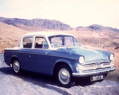 1962 Hillman Minx 1600 My first car 6 seats including front bench seat.