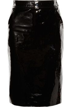 Gucci | Patent-leather pencil skirt | NET-A-PORTER.COM - StyleSays