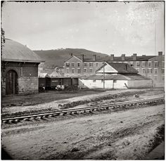 Cameron Hill, 1864. Chattanooga, Tennessee. Where the new Blue Cross Blue Shield offices are now.