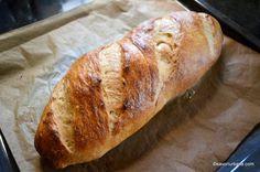 Franzela de casa reteta simpla - ca la brutarie | Savori Urbane Sweet Bread, Food And Drink, Cooking, Pretzels, Breads, Gourmet, Bread, Backen, Salads