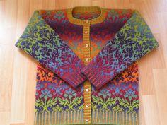 "all about color yarn: ""Классика жанра"". Жаккард. Цветное на цветном."