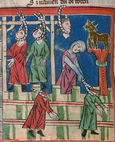 Rudolf : Weltchronik Bistum Passau, um 1300 Cgm 6406  Folio 352