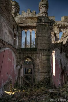 Crawford Priory ruins - Scotland