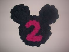 Bear Rabbit Bear Crafts: Minnie Mouse Party Decorations