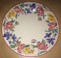 pintura Decoupage Plates, Painted Plates, Hand Painted Ceramics, Porcelain Ceramics, Ceramic Pottery, China Porcelain, China Painting, Tole Painting, Ceramic Painting