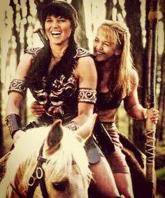 Xena Warrior princess, Gabrielle Lucy Lawless -Renée O'Connor