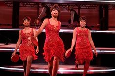 In Dreamgirls with Anika Noni Rose and Jennifer Hudson in 2006.