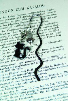 """Metall - Lesezeichen """"schwarze Katze"""" - ein Designerstück von DaiSign bei…"""