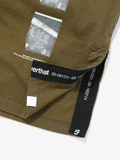JN Taped Tee Olive