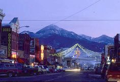 Livingston, Montana. I contemplated moving here after visiting.. So pretty