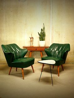 "danismm: ""Artifort Cocktail chairs Theo Ruth, 1950s """