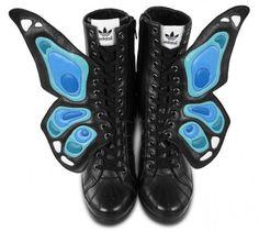 adidas Originals by Jeremy Scott JS Wings Wedge Butterfly