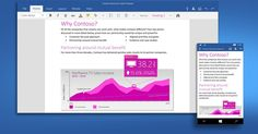 Preview builds of Microsoft's universal Word, Excel and PowerPoint apps are now available for members of the Windows Insider program running Windows 10.