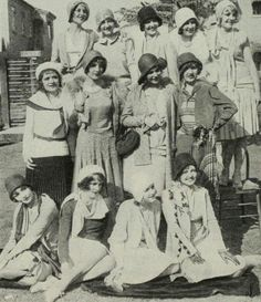 """don56: """"The WAMPAS Baby Stars 1929 Top (l. to r.): Loretta Young, Josephine Dunn, Jean Arthur, Doris Hill, Anita Page Center (l. to r.): Mona Rico, Betty Boyd, Sally Blane, Ethlyn Claire Sitting (l...."""
