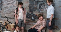 Meet the Losers' Club in Spine-Chilling New IT Photos -- New photos from the big screen adaptation of Stephen King's IT introduce the kids at the heart of this horrifying tale. -- http://movieweb.com/it-movie-2017-cast-photos-pennywise-losers-club/