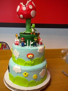 super mario cake....literally
