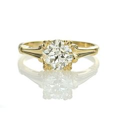 Leigh Jay Nacht Inc. - Replica 1930s Engagement Ring - 3307-01