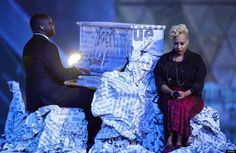 British artist Emeli Sande performs duri
