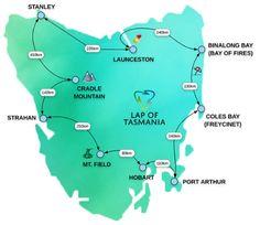 Tasmania Road Trip, Tasmania Travel, Travel Maps, Places To Travel, Places To Go, Visit Australia, Australia Travel, Scuba Diving Australia, Australian Road Trip