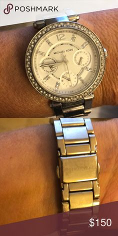 dd38cd3db7cf0 Michael Kors watch This beautiful Michael Kors watch was purchased three  years ago and has hardly