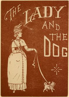 the lady and the dog