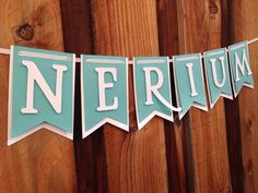 Nerium party Banner by FabulouspaperDesigns on Etsy, $22.50