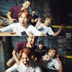 J-Hope, Jimin, Jin, Jungkook