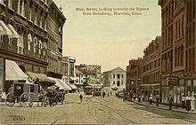 norwich, connecticut. Early 1900s