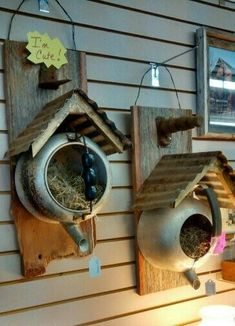 Bird houses diy - Bird houses 36 Spring Garden Ideas To DIY Yard Projects – Bird houses diy Garden Yard Ideas, Diy Garden, Garden Crafts, Spring Garden, Garden Projects, Garden Planters, Garden Tips, Upcycled Garden, Garden Junk