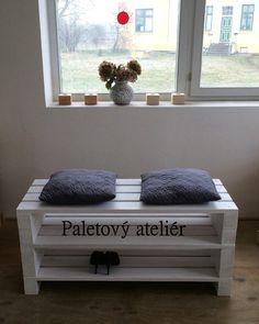 Botník z palet/lavice zvýšený / Zboží prodejce Paletový ateliér | Fler.cz
