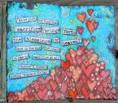 Dibujo de corazones