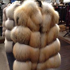 Fur vest a closet staple.