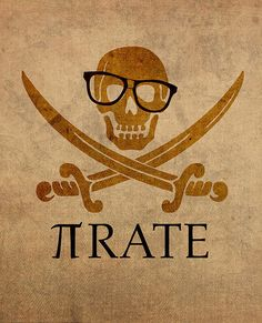 Pirate Math Nerd Humor Poster Art by Design Turnpike - Mathe Ideen 2020 Math Puns, Science Puns, Math Memes, Math Humor, Pi Puns, Calculus Humor, Biology Humor, Chemistry Jokes, Grammar Humor