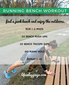 Try this short circuit of exercises to break up the miles on your next run outside!