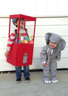 KIDS: DIY Gumball machine costume - Really Awesome Costumes