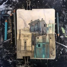 SKETCHBOOK 2012 / 2018 - Moleskine sketchbook - 9/14 cm Art work by Sébastien Guenot #houses #cinqeterre #italy #drawing #dessin #pencildrawing #blackdrawing #pastel #acrylics #pen #ballpenart #mixedmedia #sketchbook #sketchbookart #sketchbookdrawing #carnetdecroquis #moleskineart #figurativeart #lifedrawing #art #mixmedia #artwork #illustration #drawing_expression #art_collective #drawanyway #dessindujour #dessin #アート #素描 #艺术