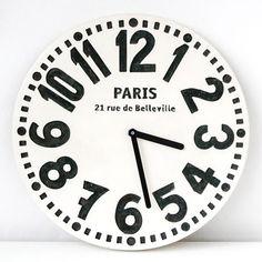 """Reloj de pared """"París"""""""