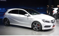 The Mercedes A-Class, set to compete with BMW 1 Series and Audi - Autos 2019 Mercedes Auto, Mercedes G Wagon, Mercedes Maybach, Mercedes Benz Classes, New Mercedes, A Class Amg, Bmw 1 Series, Fancy Cars, Nice Cars