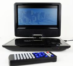 9.5 inch Portable DVD Player - Colour TFT LCD TV / DVD With 270 degree Swivel and Rechargable Battery - Supports Game Music Photo SD/MMC Card USB DVD/DVD-Rom has been published at http://www.discounted-home-cinema-tv-video.co.uk/9-5-inch-portable-dvd-player-colour-tft-lcd-tv-dvd-with-270-degree-swivel-and-rechargable-battery-supports-game-music-photo-sdmmc-card-usb-dvddvd-rom/