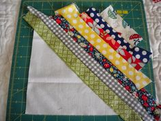 A Quilting Life - a quilt blog: String Quilt Blocks--A Tutorial