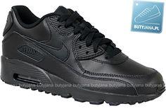 Obuwie sportowe Czarne Nike Air Max 90 Ltr GS 833412-001