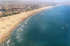 Playa de la Malvarrosa, Valencia, Spain