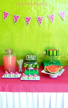 Everything Watermelon Party
