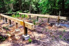 How to: Build a Rock Solid, Low Cost Off Grid Cabin Foundation shed design shed diy shed ideas shed organization shed plans garden plans Building A Small Cabin, Small Cabin Plans, Building A Shed, Building Ideas, Pier And Beam Foundation, House Foundation, Lean To Shed Plans, Free Shed Plans, Shed Construction