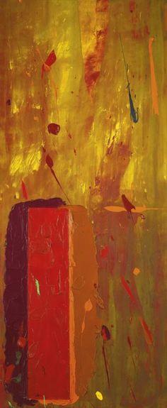 Untitled [21.2.70], 1970 Painting by John Hoyland